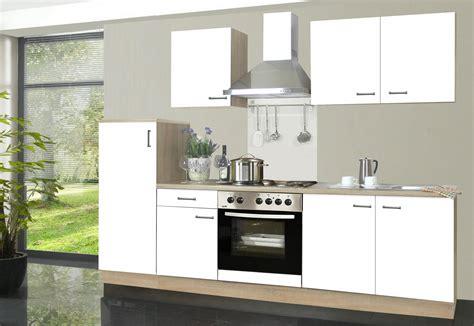 Küchenzeile Inkl Elektrogeräte