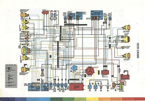 1981 Yamaha 400 X Wiring Image by Shema Electrique Hondacx