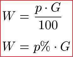 Prozentwerte Berechnen : prozentrechnung formeln prozentformel ~ Themetempest.com Abrechnung