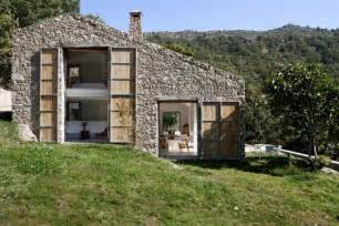 Extension Curtain Rods by Spanish Stable Turned Contemporary Stone Home Modern