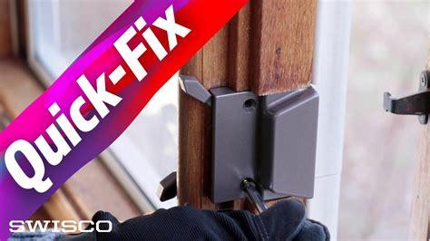 replace  casement window lock keeper youtube