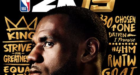 LeBron James will be on the cover of NBA 2K19, but he won ...