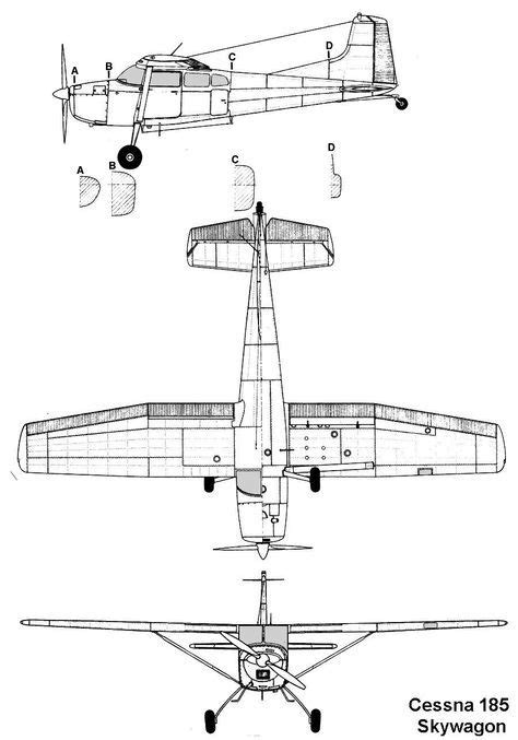 cessna 172 templates cesna airplane outline template wiring diagrams