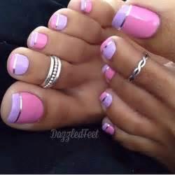 Easy toe nail designs pretty simple toenail art