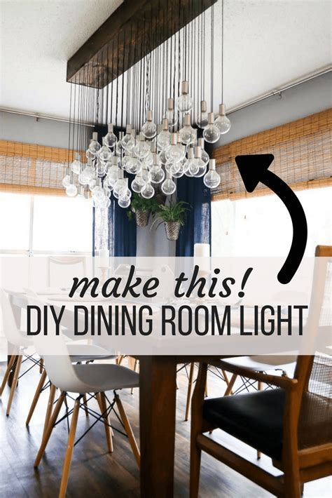 DIY Multi Bulb Dining Room Chandelier   Love & Renovations