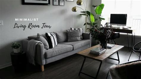 tiny minimalist apartment living room  youtube