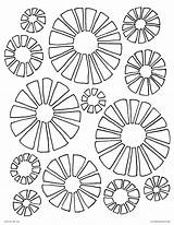 Disco Coloring Pages Ball 70s Retro Printable 70 Flowers Adults 1970 Getdrawings Getcolorings Comments Template sketch template