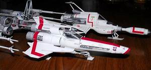 Sci-Fi Spacecraft Paper Model (page 3) - Pics about space