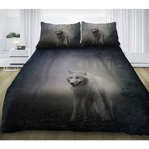gray king comforter wolf bedding set gray wolf duvet cover cotton sheets and