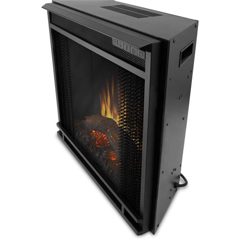 real flame   electric firebox fireplace country