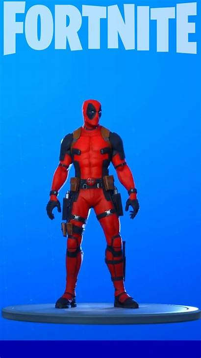 Fortnite Deadpool Force Skin Phone Backgrounds