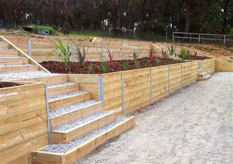 photos of retaining walls retaining walls melbourne landscaping