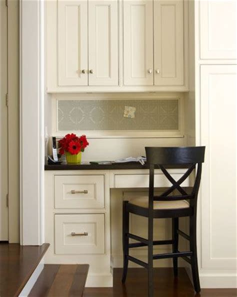 desk in kitchen design ideas neat tidy kitchen desk office nook ideas