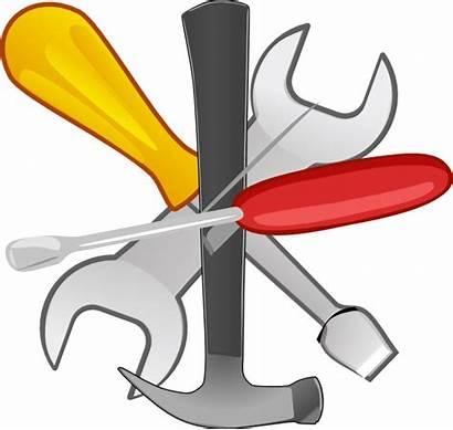 Tools Clipart Clip Hand Cliparts Tool Construction