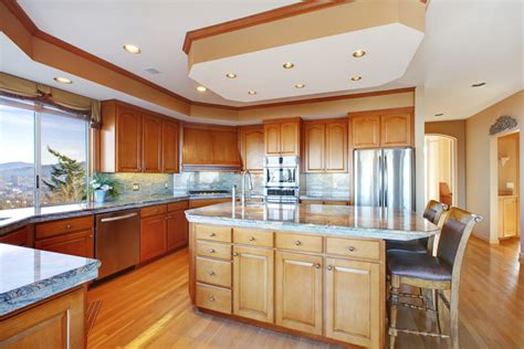 drop lighting kitchens what do you call the drop ceiling above kitchen cabinets 6969