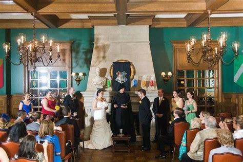 harry potter theme wedding   geeks dream