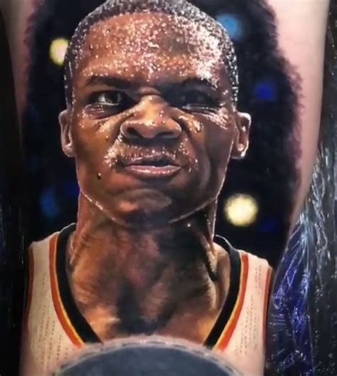 This Russell Westbrook Fan Tattoo Is Crazy ⋆ Terez Owens