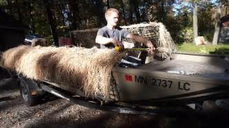 Duck Blind On Boat by How To Install A Top On Your Duck Boat Blind