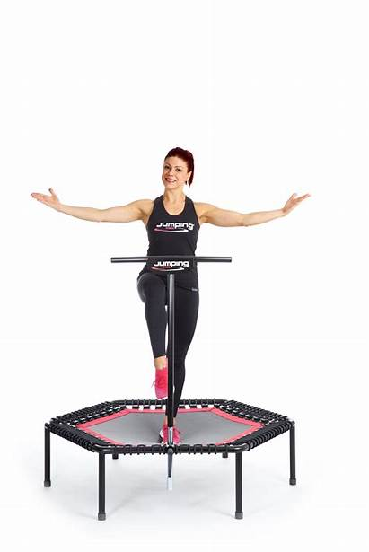 Fitness Jumping Trampoline Bellicon Workout Trampolin Voor