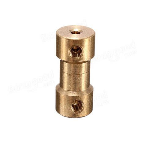 pcs mm brass coupling coupler  spanner  screw sale banggoodcom
