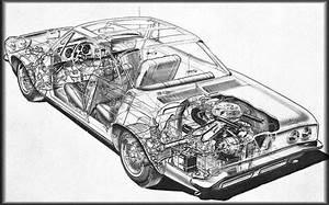 1960 Chevrolet Corvair Cutaway Illustration