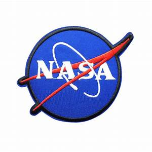 NASA Logo Patch Embroidered Space Sew on Iron on Patches ...