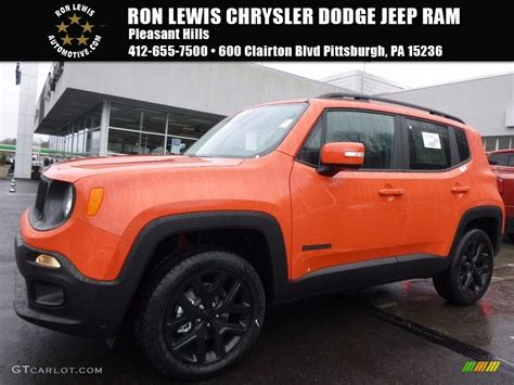 jeep renegade interior orange 2017 omaha orange jeep renegade latitude 4x4 119090666