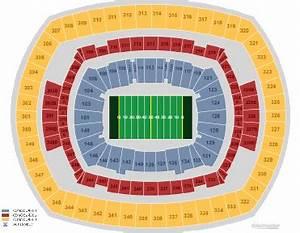 Metlife Stadium East Rutherford Nj Seating Chart