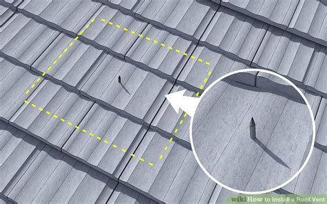 8 inch ventilation fan 3 ways to install a roof vent wikihow