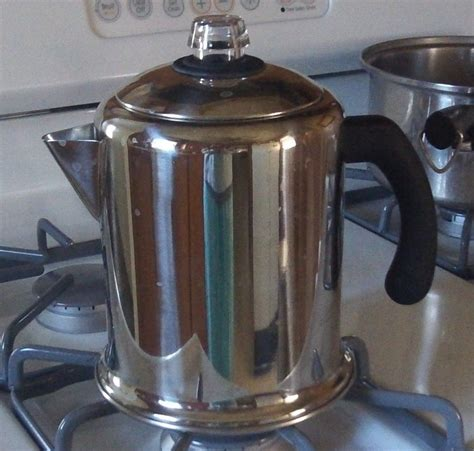 To percolate is to make a solvent pass through a how to make percolator coffee on the stove? How to Use a Stove Top Coffee Percolator | Camping coffee, Electric coffee maker, Best coffee maker
