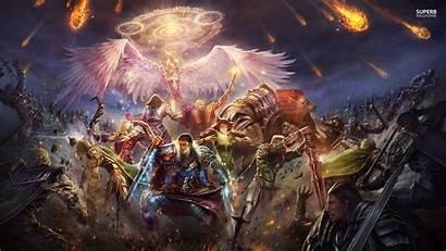 Fantasy Epic Battle Wallpapers Battles Space Tournament