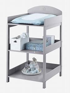 Panier Table A Langer : table langer sirius gris vertbaudet ~ Teatrodelosmanantiales.com Idées de Décoration