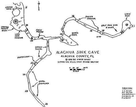 Alachua Sink Gainesville Fl by Caveatlas 187 Cave Diving 187 United States 187 Alachua Sink