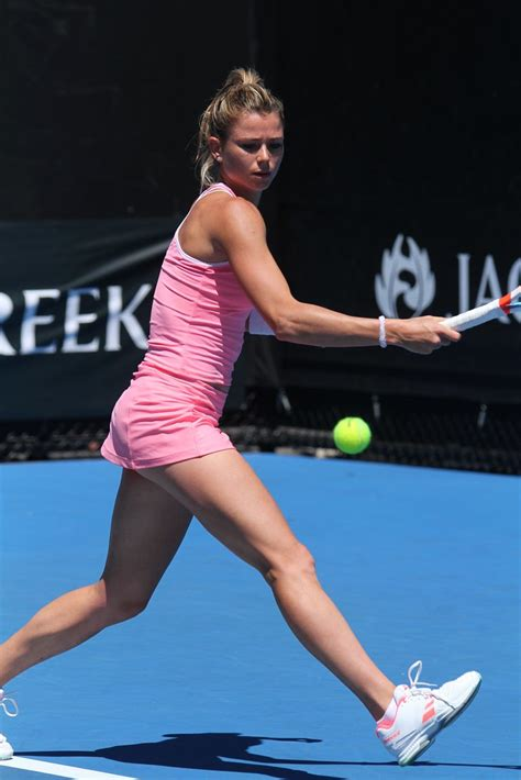 foto de Camila Giorgi Australian Open Tennis 2018 ozph Flickr