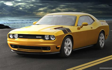 Sms Dodge Challenger Wallpaper