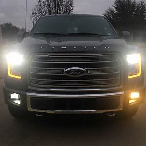 2018 Owners  Do Your Led Fog Lights Strobe On Front Camera Display