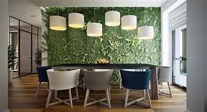 meeting room interior design a green wall gives a fresh With ordinary decoration de jardin exterieur 14 decoration salon maison bourgeoise