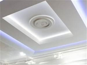 plafond design moderne Plafond platre