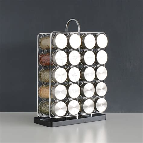 Spice Rack And Spices by Brand New Procook Contemporary Spice Rack 20 Jars With