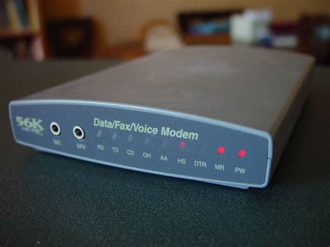 picture external rs serial dialup fax modem