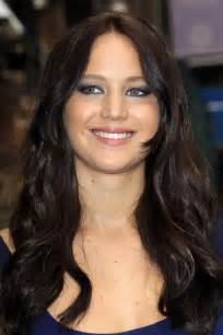 Hair Color Out Of Carpet celebrity hairstyles jennifer lawrence black hair