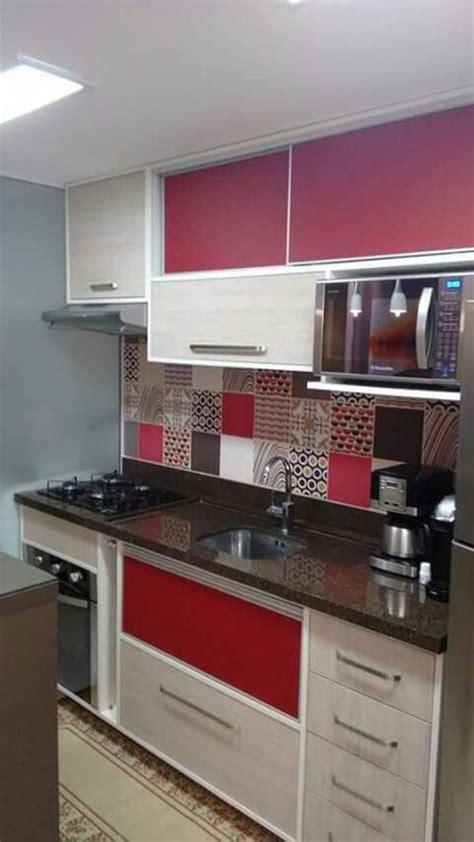 disenos de cocinas modernas  casas pequenas  colores