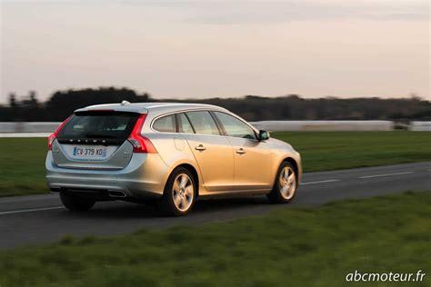 si鑒e ergonomique voiture essai v60 d6 le hybride rechargeable selon volvo