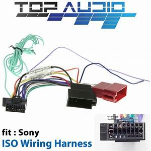 Sony Iso Wiring Harness Cable Connector Lead Plug Xav65