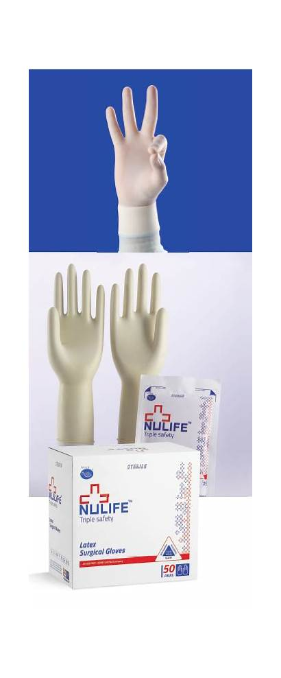 Gloves Surgical Latex Elbow Nulife Length Sterile