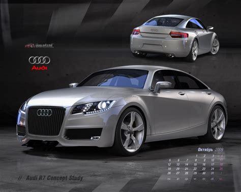 Audi R7 by авто обои Audi R7 Concept Study 6115