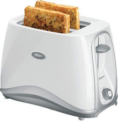 Cheapest Pop Up Toaster by Oster 6544 750 Watt 2 Slice Pop Up Toaster White Price