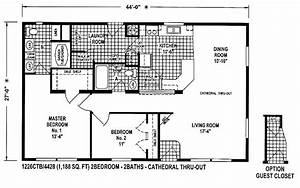 clayton double wide homes floor plans : Modern Modular Home