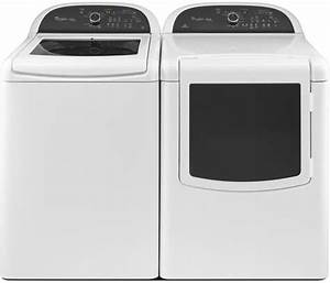 Whirlpool Wed8100bw 29 Inch Electric Dryer With 7 6 Cu  Ft