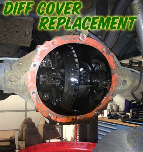 replace  jeep cherokee xj differential cover